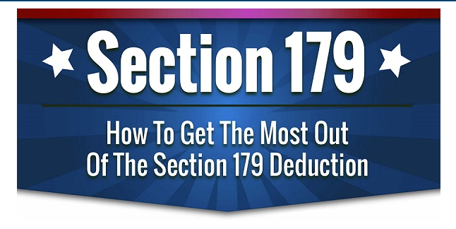 Get the most out of the Section 179 deduction